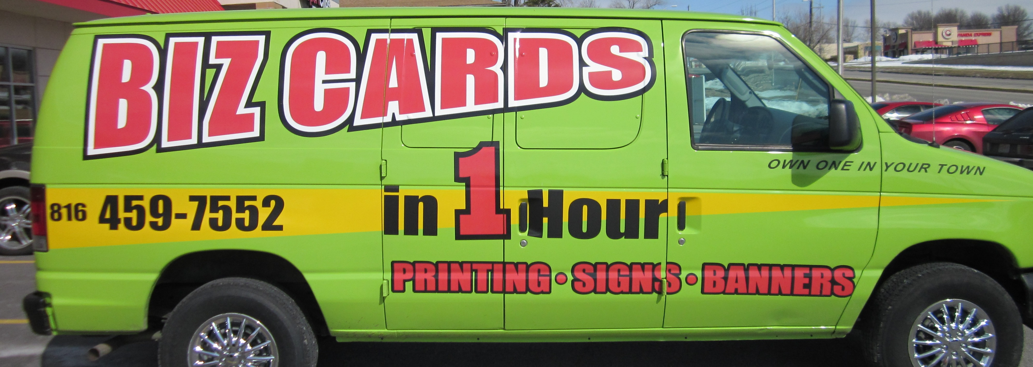 Auto Lettering | Business Cards Kansas City