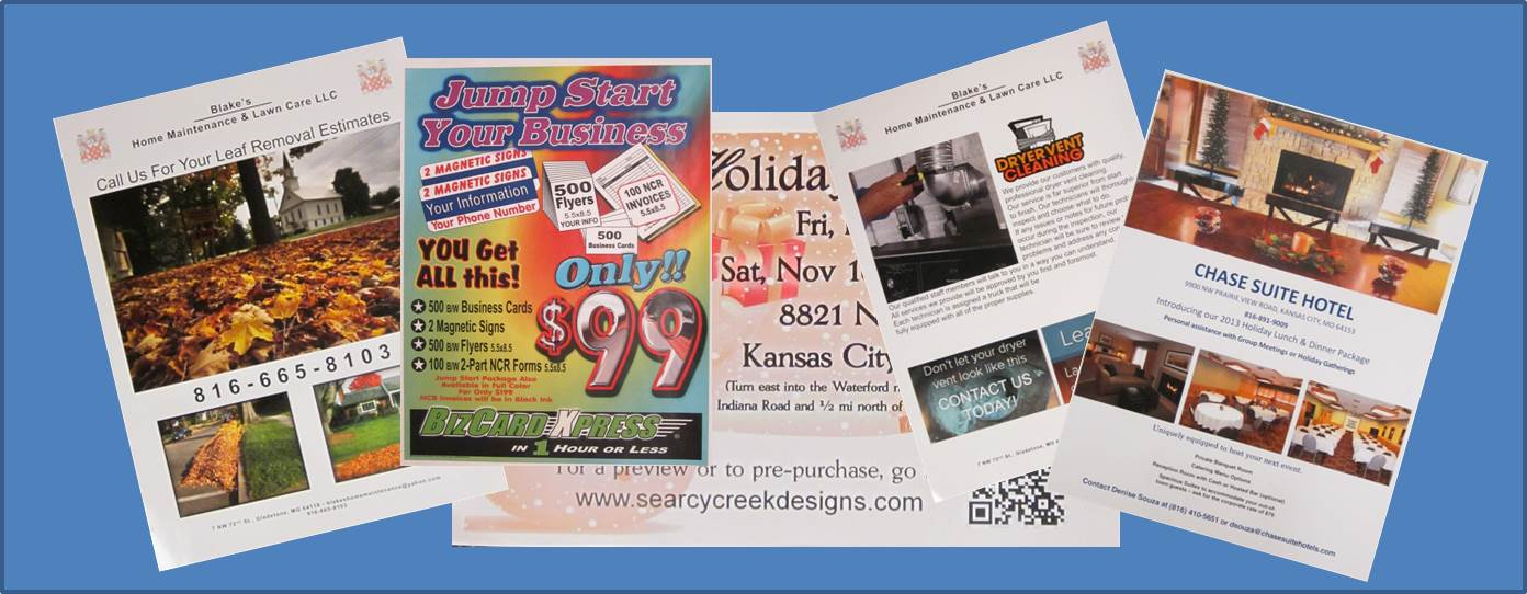 Flyers | Business Cards Kansas City