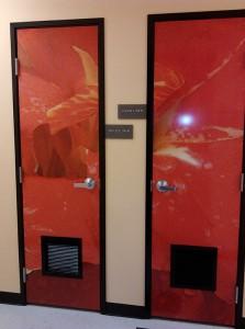 Large Door Murals