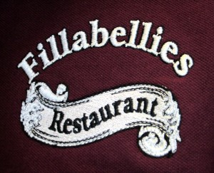 Embroidered Restaurant Logo