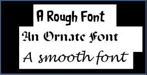A Font Illustration