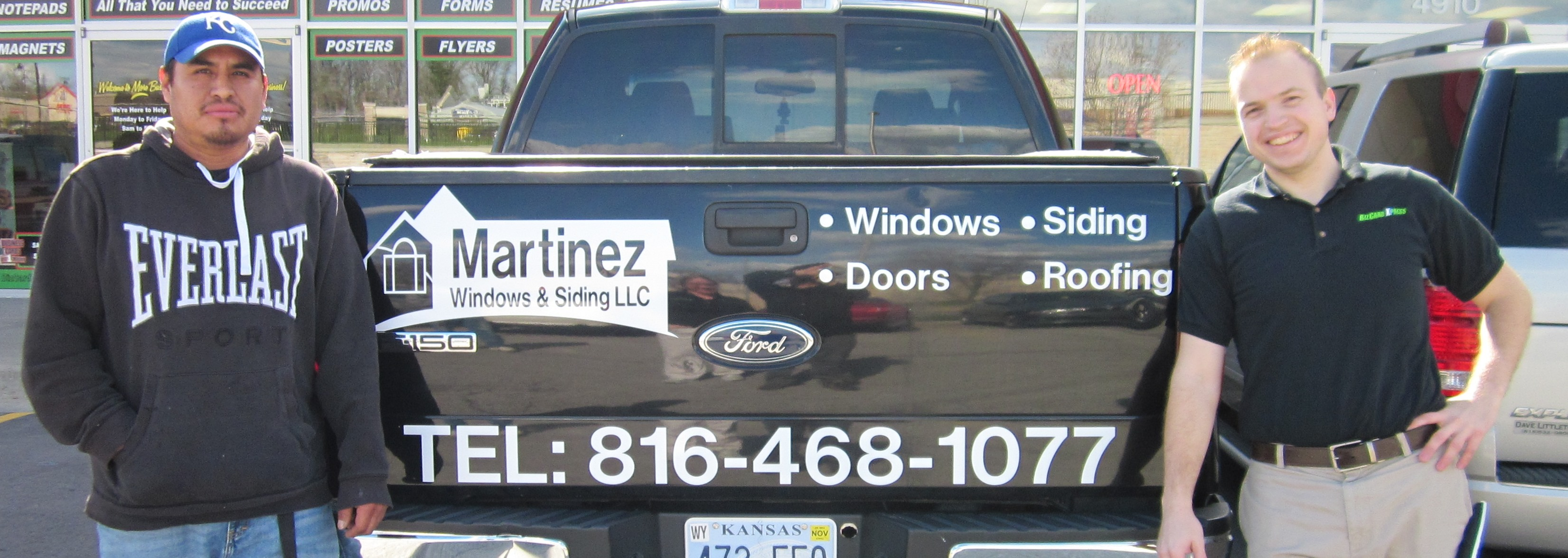 Car Decals Business Cards Kansas City - Vehicle decals for business application