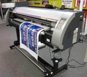 Large Printer for Banners and Signs